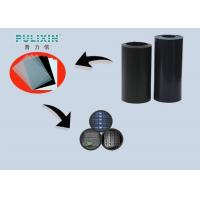 Frosted 2mm Black Matte Plastic Sheet Polystyrene Rolls Of High Strength Manufactures