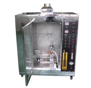 Electric Horizontal Flammability Testing Equipment UL 94 Plastic Materials Tester