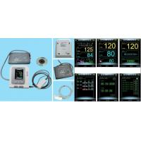 Buy cheap electronical blood pressuere monitor,with multifunction,color display screen, from wholesalers