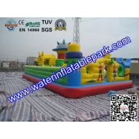Buy cheap Funny Inflatable Amusement Park / Mobile Inflatable Fun City Bouncer from wholesalers