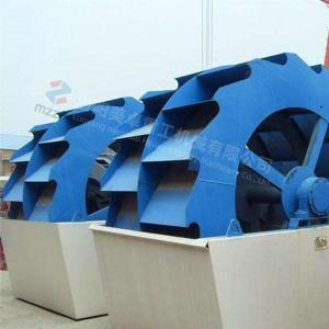 China Aggregate Bucket Sand Washer Normal Motor High Performance Long Lifespan on sale