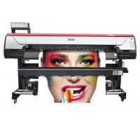 6 Feet Flex Printing Machine , Wide Format Plotter Printer Stable Performance Manufactures