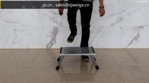 Silver Foldable 48cm 2x1 Safety Step Stool Manufactures