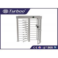 Workshop Manual Full Height Turnstile Self Resetting Function ISO9001 CE Certificate Manufactures
