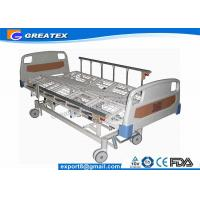 ABS , Power Coated Steel 5 Function Full Electric Hospital Bed for home use Manufactures