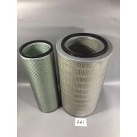 Buy cheap Heavy Eqiupment Excavator Air Filter , Daewoo Filter Submicron Capture Self from wholesalers