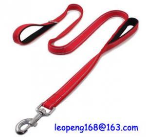 China Quality Reflective Nylon Dog Leash Pet Safety Walking and Trainning Dog Leash factory price on sale