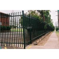 Galvanized Steel Wire Mesh Fence Panels Picket Tubular For Boundary Wall Manufactures