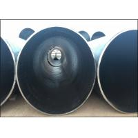 ASTM A252 API 5L Grade B LSAW Steel Pipe For Large Diameter Drainage Pipe Manufactures
