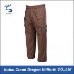 Multi Color Security Tactical Combat Pants , Ripstop Men'S Tactical Cargo Pants