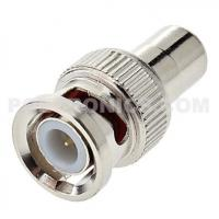 BNC-RM01 BNC Male Plug to RCA (Phono) Female Socket Connector Manufactures