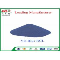 100% Purity Blue Vat Dye RCL Vat Dyes Dyestuffs Powder For Cotton Fabric Manufactures