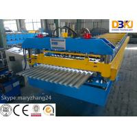 Cheap Corrugated Roll Forming Machine Forging Steel 18 Groups Rollers For Transportation for sale