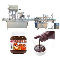 Buy cheap Automatic Tomato Sauce Bottle Filling Machine 10ml - 500ml Filling Capping from wholesalers