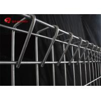 Roll Top Wire Mesh Fence Panels , Decorative BRC Fence 1500mm / 2000mm / 2500mm Width Manufactures