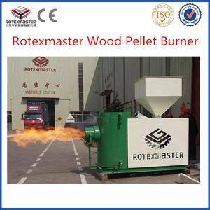 wood pellet fuel burner / wood pellet chips  burner for sale Manufactures