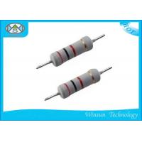 High Accuracy Metal Oxide Film Resistor 1 Ohm 3 Watt Resistor For Electronic Manufactures