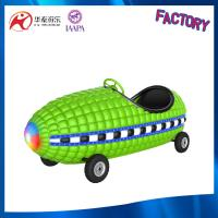outdoor ride battery and coin operated Corn kid rides with flash light Manufactures