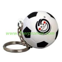 Soccer Ball Stress Reliever Key Chain Manufactures