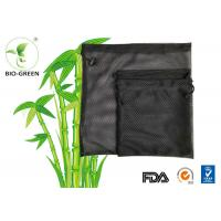 Printed Black Laundry Net Bag , Machine Washable Waterproof Diaper Bag Manufactures
