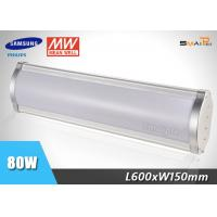 Impact Resistance Commercial Waterproof LED Linear Light 2 Feet 80W Manufactures