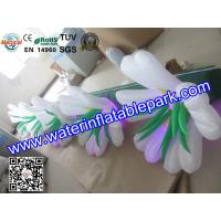 Giant  Flower Inflatable Decoration With LED , Inflatable Flower Chain Decoration Manufactures