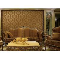 Cheap European Style Wet Embossing peel and stick wall covering 0.685*8.32M Different Colors for sale
