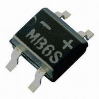 SMD Bridge Rectifier, MB2S/MB4S/MB6S/MB10S, 0.5A Current, 50 to 1000V Manufactures