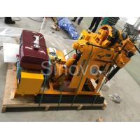 Small Sinovo Spindle Core Drilling Rig For Soil Investigation Manufactures