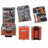 147Ppcs Drill Screwdriver Multifunction Household Cordless Power Tool Set with Aluminum Case Manufactures