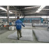 2 X 1 X 1 Size Welded Wire Fence Roll , Rock Baskets Wire Mesh For River Control Manufactures