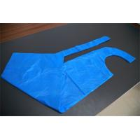 Waterproof LDPE Blue Disposable Aprons For Medical / Food Industry Protection Manufactures
