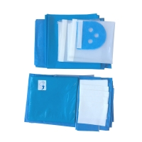 China Ophthalmic Self Adhesive Medical Fenestrated Surgical Drapes on sale