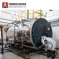 PLC Automatic Control Industrial Fire Tube Gas Fired Steam Boiler 5 ton Manufactures