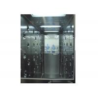 Stainless Steel Tunnel Air Shower With Automatic Door , Clean Room Equipment