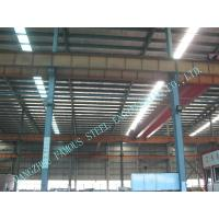 China High Eave Industry Shed Structural Steelwork Fabrication With Low Cost on sale