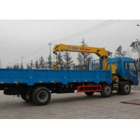 Construction Telescopic Boom Truck Mounted Crane For Municipal Services