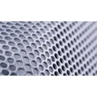 China 0.2mm0.5mm0.3mm diameter round hole microporous aluminum plate various materials SUS304 perforated plate perforated filt on sale