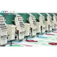 Mixed Chenille And Flat Computerized Embroidery Machine , Servo Motor Manufactures