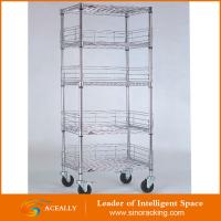 Steel wire shelving unit, white wire shelving unit Manufactures