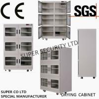 China CE SGS Customized Dehumidifier Electronic Dry Cabinet , RH Range 1 - 10% For audiovisual, precise instruments, food on sale