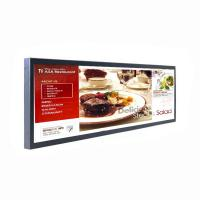 29 inch Strip Bar LCD Digital Signage / Stretched LCD Screen Support 1080P Full HD Video Manufactures