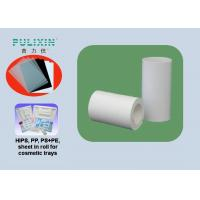 High Density Polyethylene Plastic Sheet Roll With High Strength , Heat Resistant Manufactures