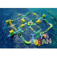 Cheap Giant Commercial Inflatable Water Park For Children Floating CE for sale