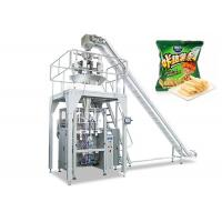 Automatic Food Packing Machine , Vertical Apple Chips Packing Machine Manufactures