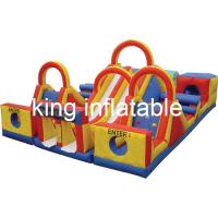 Kids And Adults Big Commercial Inflatable Water Slide With 2years Warranty Manufactures