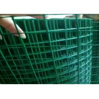 3ft 5ft  PVC Coated Welded Wire Mesh Low Carbon Steel For Protection Cage Manufactures