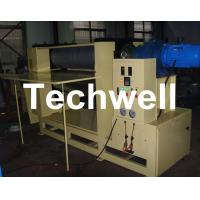 PVC / WPC / Wooden Embossing Machine With Embossing Speed 0.5-15m/min, Frequency Control Manufactures