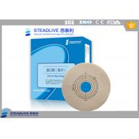 Colostomy Bag Accessories Comfortable Base Plate With Full Hydrocolloid , Release Film Manufactures