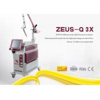 10Hz Frequency Laser Tattoo Removal Machine Q Switched Nd Yag Picosecond Pigment Treatment Manufactures